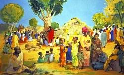 Association Life of Jesus Mafa, Le beatitudini