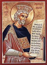 Icona di re David
