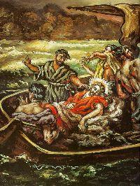 Giorgio de Chirico, Cristo e la tempesta