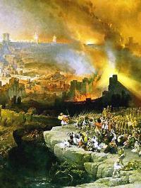 David Roberts, Assedio e distruzione di Gerusalemme