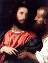 Tiziano, Cristo della moneta