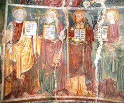 Giovanni e Luca De Campo - S. Pietro, S. Andrea, S. Giacomo maggiore, S. Giovanni - Chiesa dei S.S. Nazzaro e Celso - Sologno, frazione di Caltignaga (NO)
