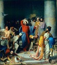 Carl Heinrich Bloch, Cacciata dei venditori dal Tempio