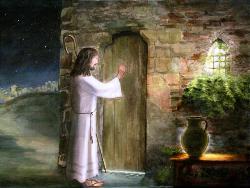 Cecilia Brendel, Gesù bussa alla porta