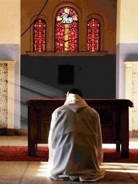 Monaco in preghiera
