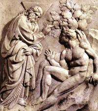 Jacopo Della Quercia, Creazione di Adamo