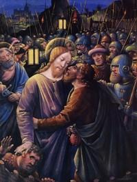 Jean Bourdichon, Il tradimento di Giuda