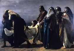 Antonio Ciseri, Il trasporto di Cristo al sepolcro