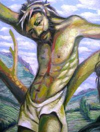 Sergio Michilini, Cristo giallo