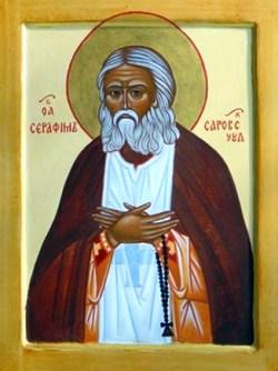 Icona di San Serafino da Sarov