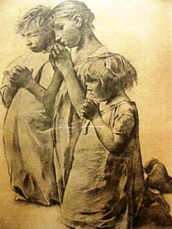 Leon Frederic, La priere du soir