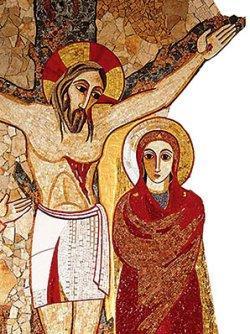 Artisti del Centro Aletti, Maria ai piedi della Croce