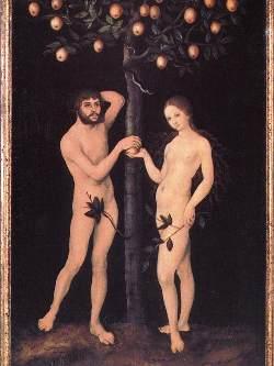 Lucas Cranach the Elder, Adamo ed Eva