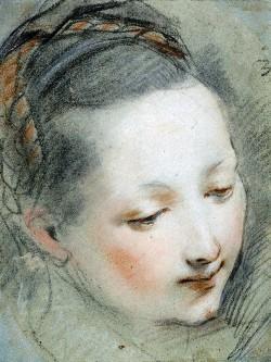 Federico Barocci, Studio per la Vergine Maria per l'Annunciazione
