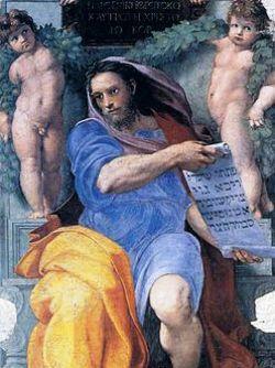Raffaello Sanzio, Il profeta Isaia