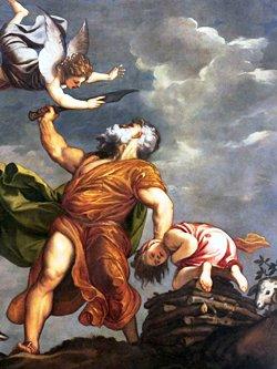 Tiziano Vecelli, Il sacrificio di Isacco