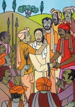 Suor Marie Claire Naidu, Il bacio di Giuda