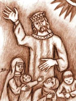 Fr Beniamino, Cristo re dell'Universo