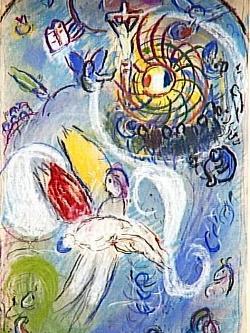 Marc Chagall, La creazione dell'uomo