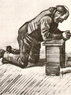 Vincent Van Gogh, Uomo in preghiera