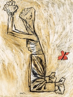 Oscar Cahén, Praying Man