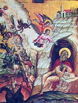 Icona di San Giovanni Climaco