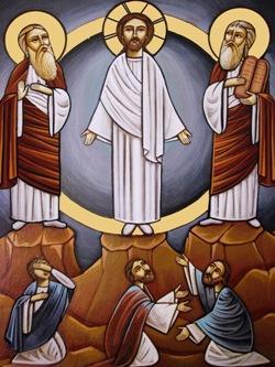 Icona copta della Trasfigurazione