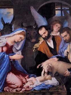 Lorenzo Lotto, Adorazione dei pastori