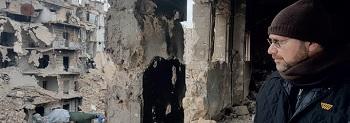 Aleppo, rovine dopo la guerra